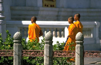 Buddhist monks Thailand