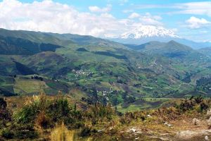 Ecuador has many natural landscapes